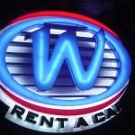W RENT A CAR ACRILICO1